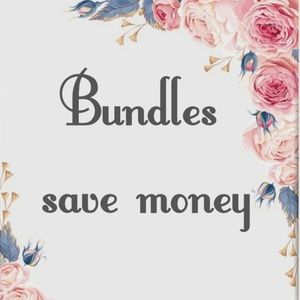 Make a bundle, get a discount and save on shipping